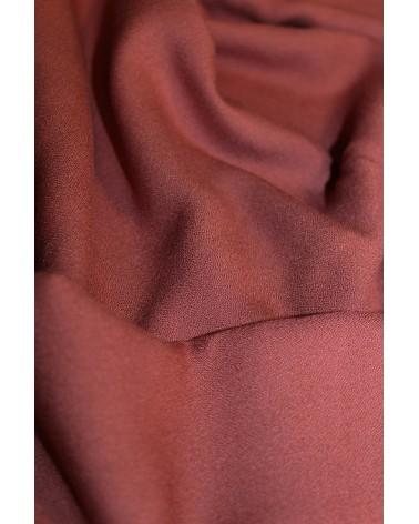 Tissu Terracotta Crêpe de Viscose