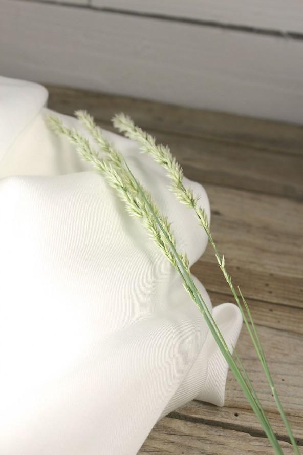 Tissu Sergé de Tencel Edelweiss