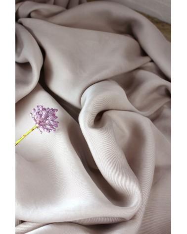 Tissu Sergé de Tencel Mastic