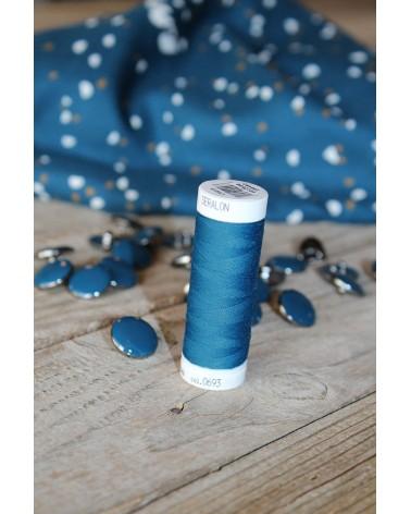 Fil à coudre Bleu Pétrole