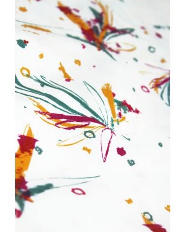 Tissu Ara Rouge Sergé de Lyocell