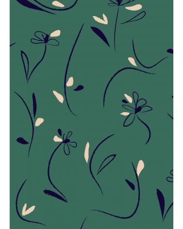 Dessin Bloom Vert Emeraude Eglantine et Zoé