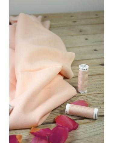 Tissu Nude Crêpe de Viscose Eglantine et Zoé idéal pour coudre des vetements fluides