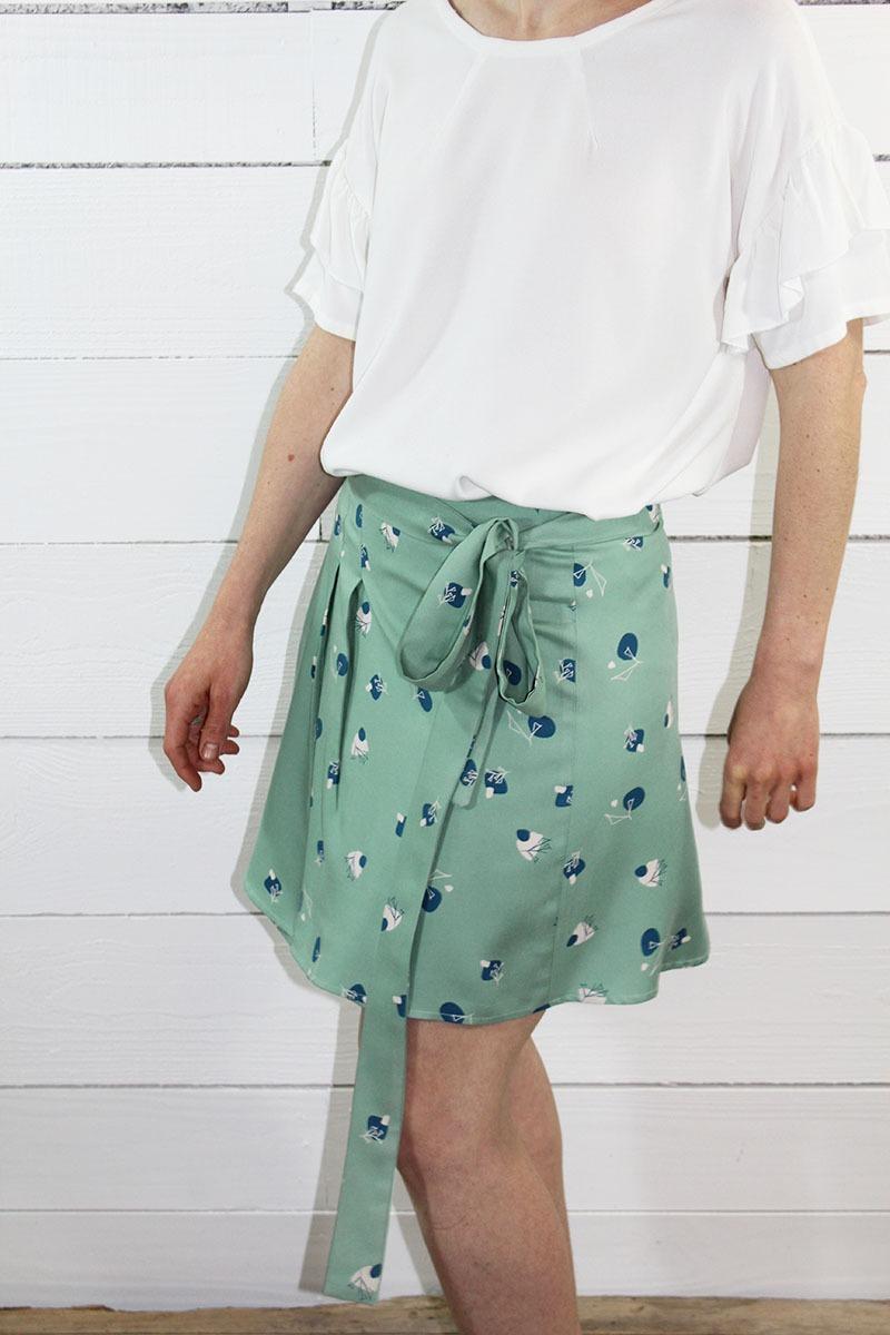 jupe couture coudre Leaf maison fauve